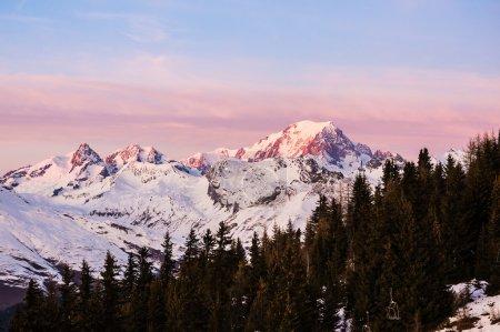 Mont Blanc at Dusk