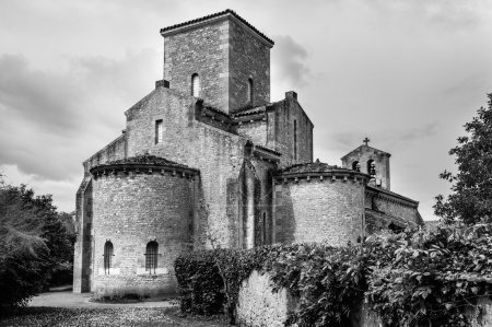 Ancient church in Carolingian style