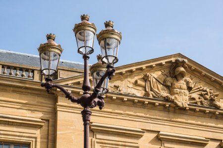 Ancient decorative lantern