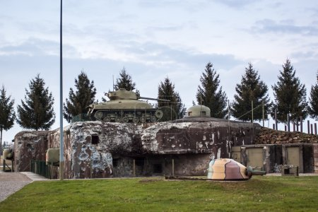 Casemate on the Maginot Line