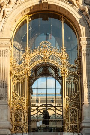 Entry of Small Palace in Paris