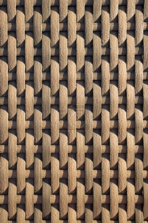 Brown wicker texture