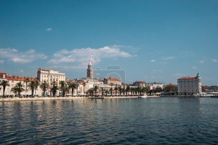 Skyline of city Split downtown
