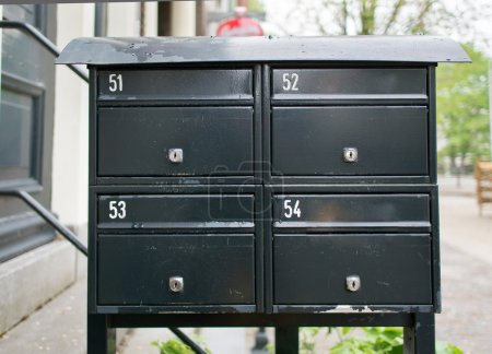 simple mailbox in Amsterdam