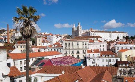 Old neighborhood of Lisbon