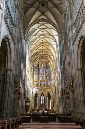 St. Vitus Cathedral in Hradcany