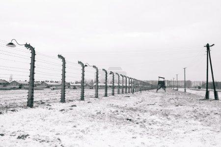 Concentration camp of Auschwitz Birkenau