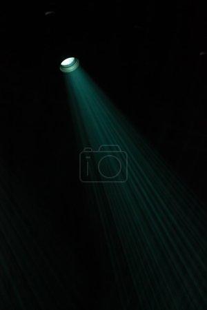Lights through the smog