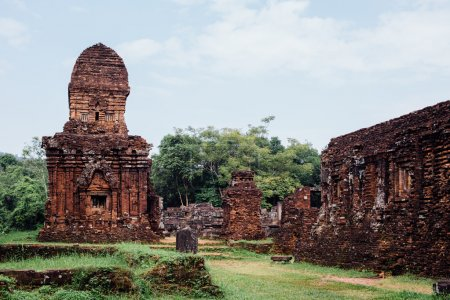 Asian temple ruins