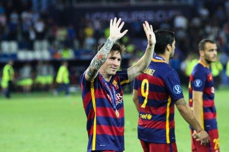Footballer Lionel Messi