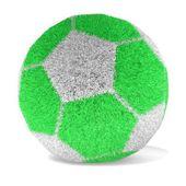 Fotbal s trávou povrchu - 3d vykreslování