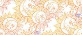 Sun moon and zodiac seamless composition