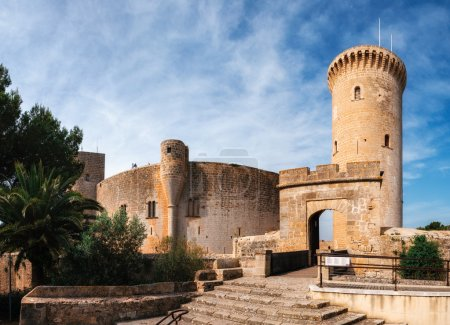 Bellver castle in Palma de Mallorca, Spain