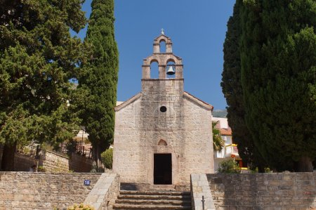 the old Catholic Church in Montenegro, Petrovac