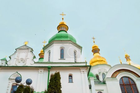 Kiev's landmark - Sophia Cathedral. Capital of Ukraine