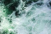 Raging streams of water