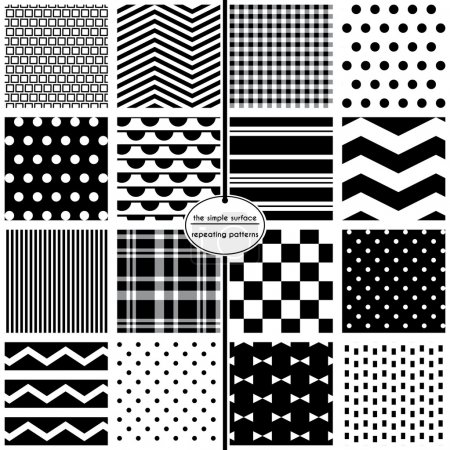 Black & White Scrapbook Paper
