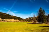 Idyllic landscape in the German Alps