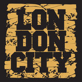 T-shirt  London design fashion