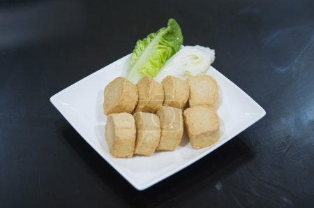 Fishballs tofu for steamboat