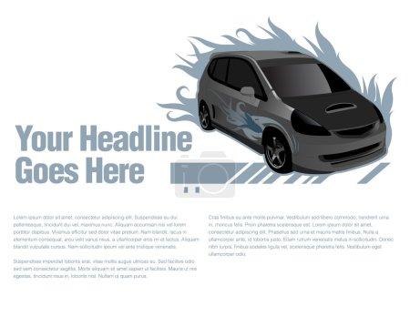 Car design template