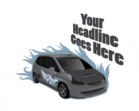 vehicle design template