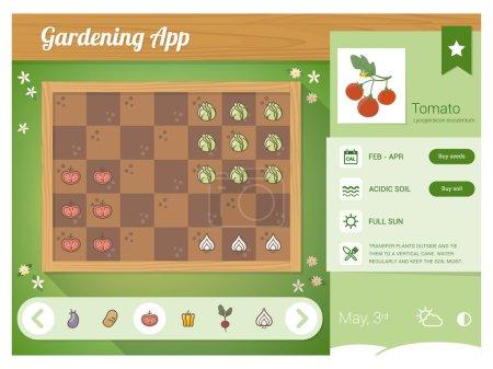 Garden planner app