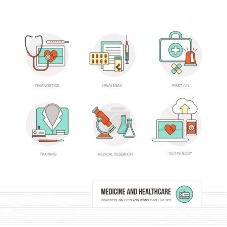 Medicine, healthcare and doctors concept