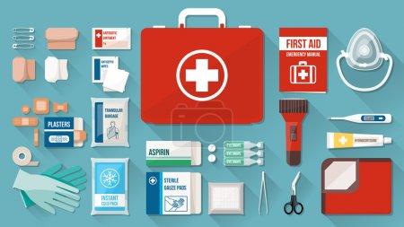 First aid kit box