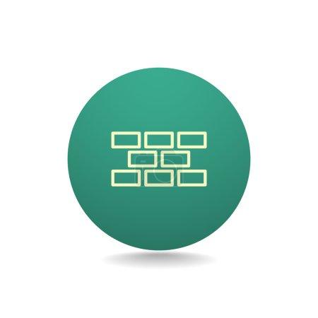 bricks material icon