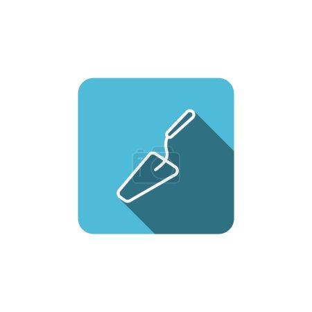Trowel tool icon