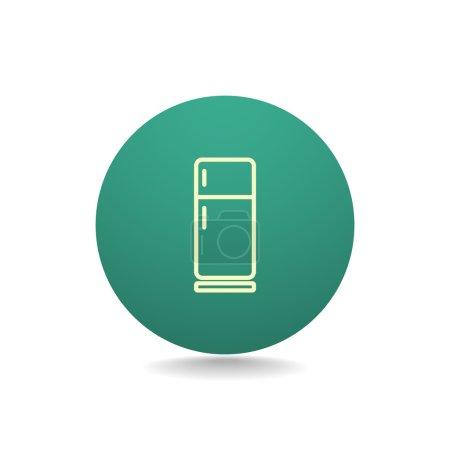 kitchen refrigerator icon