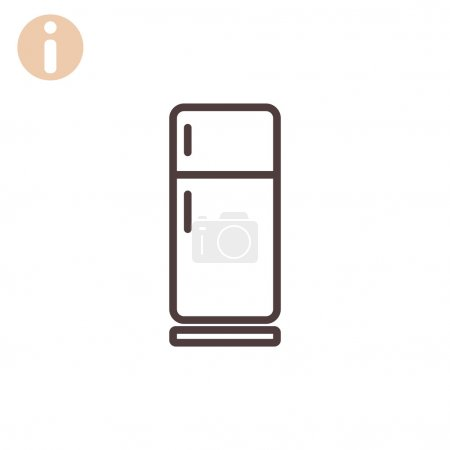 kitchen refrigerator icon