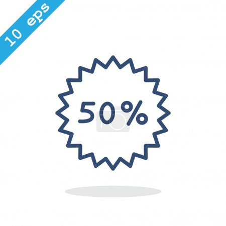 sell. 50% percent; digits.