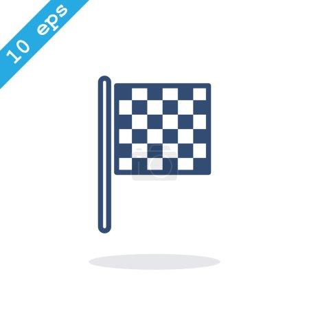 Checkered Racing Flag icon
