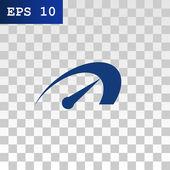 arrow of speedometer icon