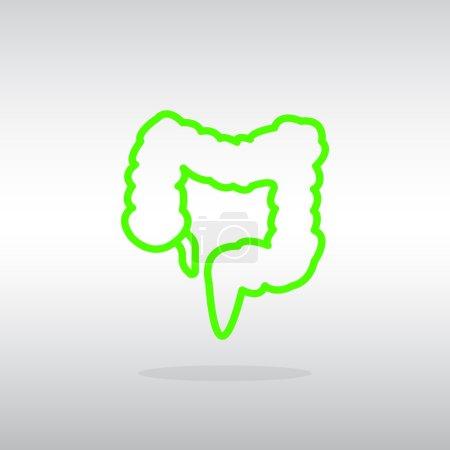 large intestine icon