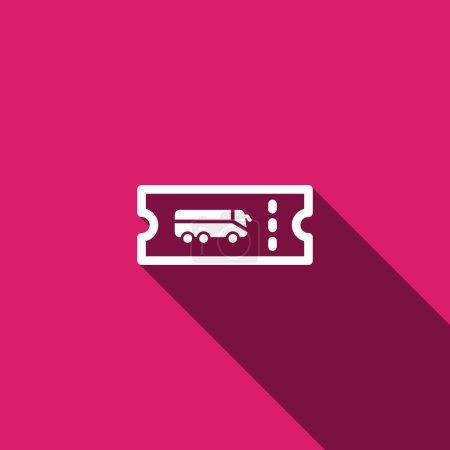 Bus passenger ticket