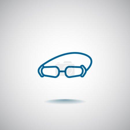 diver goggles icon