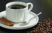 Pražená kávová zrna, lze použít jako pozadí