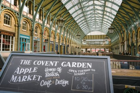 View of Covent Garden market