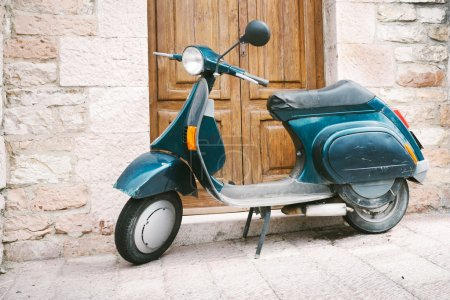 Old Italian scooter