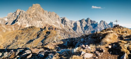 Beautiful Dolomites view