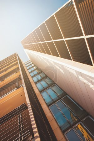 High skyscraper view