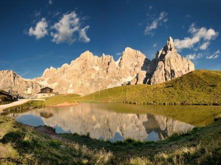 Scenic view of Dolomites
