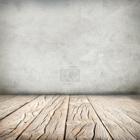 wooden floor and wall background