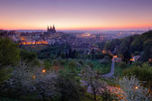 Twilight morning in Prague