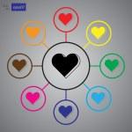 Heart - Valentine's Day vector icon...