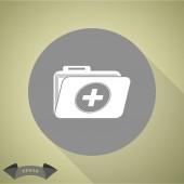 Ikona složky lékařské