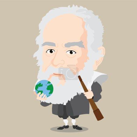 Vector illustration - Galileo